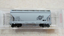 MICRO TRAINS ~ CHICAGO & NORTH WESTERN 2 BAY COVERED HOPPER #175586 ~ LOT A ~ N
