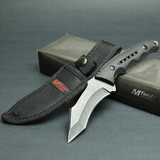 """MTECH 8 5/8"""" 440 Stainless Recurve Tanto Fixed Blade Tactical Combat Knife"""