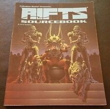 RIFTS SOURCEBOOK One 1995 Roleplaying Game Softcover Palladium Books 801 RPG NM!