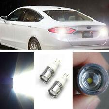 2pcs 12V 7W T15 194 T10 921 LED White Backup Reverse Bulb High Power Xenon Light