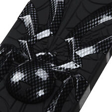 iPhone 5 5S SE Widow Spider Hybrid Rubber Silicone Case Phone Cover Carbon Fiber