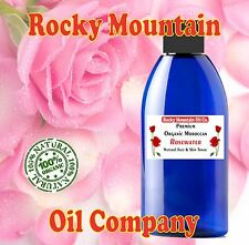 100% PURE ORGANIC ROSE WATER 4oz SKIN TONER -ALL NATURAL- IMPORTED FROM MOROCCO