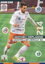 129 MATHIEU DEPLAGNE FRANCE MHSC MONTPELLIER.SC CARD ADRENALYN 2016 PANINI