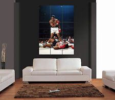MUHAMMAD ALI Vs SONNY LISTON VECTOR Giant Wall Art Print Picture Poster