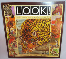 LOOK! The Ultimate Spot the Difference Book,  April Wilson , Paperback, New,QTY