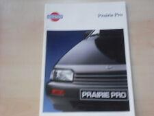53536) Nissan Prairie Pro Prospekt 198?
