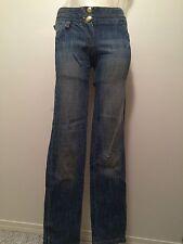 Gizia Couture 380$ jeans women's pants  XS EU 36 2 party swarovski green