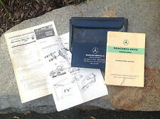 Mercedes-Benz Type 180a Owner's Manual / Blaupunkt Autoradio Install Instruction