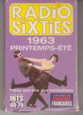 Cassette Audio Radio Sixties 1963 Printemps-été Hits des Anéées 60-70