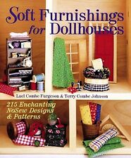 Soft Furnishings for Dollhouses by Lael Combe~Pattern Book