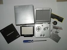 New Housing Shell Pack for Nintendo Gameboy Advance Sp GBA SP Repair Part-Silver