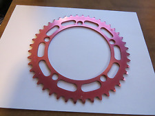 Shimano old school BMX chain ring NOS RED rare Unicorn?? 130 bcd