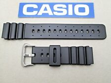 Genuine Casio DW6400C DW8300 DW8300G DW7000C DW7200C black resin watch band
