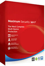 Trend Micro Titanium Maximum Security 11 (2017) 1 Year 3 PC, Windows 7,8,10, MAC
