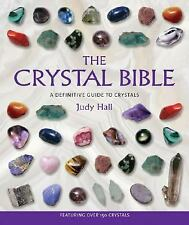 The Crystal Bible by Judy Hall Crystals ID Book (Paperback)