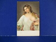 La Flora Tizian Vecelli Made in Germany Vintage Postcard Unused PC13