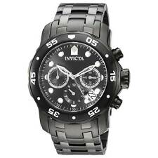 Invicta 21926 Gent's Chrono Black IP Steel Black Dial Dive Watch