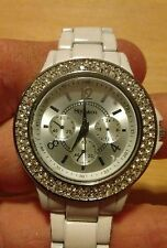 Vintage Style & Co Gemmed ladies watch, running with new battery NR F