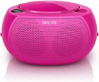 NEW Philips - AZ100C/79 - CD Soundmachine - Pink from Bing Lee