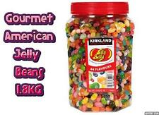 American Gourmet Jelly Belly Beans Sweet Xmas Gift Jar 1.8KG Candy 44 Flavours