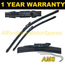 """FOR MERCEDES A CLASS W169 2004- DIRECT FIT FRONT AERO WIPER BLADES PAIR 26"""" 23"""""""