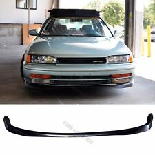 Fit 90-93 Honda Accord PU Front Bumper Lip T-R Style
