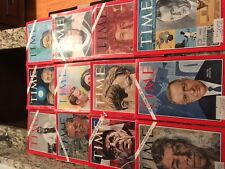 12 OLD VINTAGE TIME MAGAZINES 1966-1969 GREAT VALUE! GREAT SHAPE
