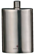 F/S Snowpeak Titanium Skittles L 170ml eco Hip Flask Camping New From Japan T103