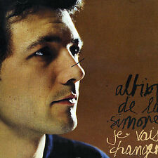 Albin de la Simone : Je Vais Changer rare CD Album; France EMI