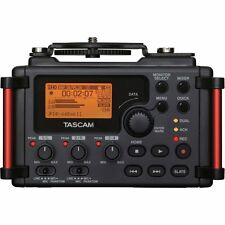 Tascam DR-60D MK2 4 Channel Portable Digital Recorder for DSLR Cameras DR60DMK2