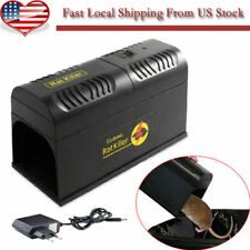 New Electronic Mouse Rat Rodent Killer Electric Trap Zapper Pest Control -US OY