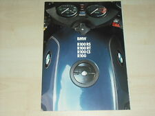 62758) BMW R 100 RS RT CS Prospekt 02/1982