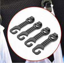 4x Car Seat Headrest Carrier Bag Hook Curry Takeaway Handbag Shopping Beer Hooks