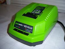 2015 GREENWORKS G-MAX 40VOLT 40V LITHIUM MAX CHARGER ONLY 29482