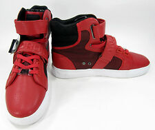 Android Homme Shoes Propulsion Hi Red/Black Sneakers Size 9 EUR 42
