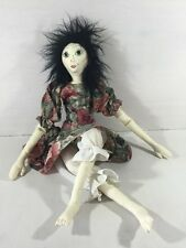 Handmade Painted Cloth Doll