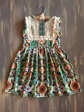 "Precious Persnickety Toddler Girl's Paisley Vintage Lace ""Lou Lou"" Dress 3/3T"