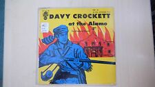 Plymouth Records DAVY CROCKETT AT THE ALAMO 45rpm EP 50s