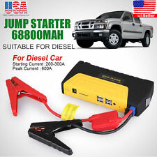 Portable Mini Slim 68800mAh USB Car Jump Starter 12V Battery Charger Power Bank
