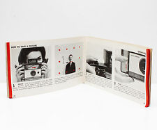 Vintage Polaroid 104 Instant Film Land Camera Manual Instructions Guide English