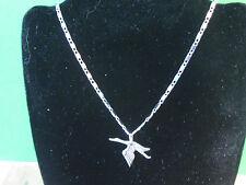 HISPANO SUIZA  - STORK emblem - necklace , pendant   GIFT BOXED