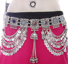 TRIBAL Fusion Coin BELT| Vintage Kuchi Afghan Festival Boho Belly dance Jewelry