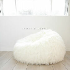 SUPER LUXE FUR BEANBAG Cover Cloud Chair Lush & Soft Bean Bag - Top of the Range