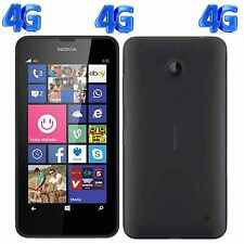 Brand New Nokia LUMIA 635 8GB Unlocked WIFI 4G Black Windows Smartphone Boxed