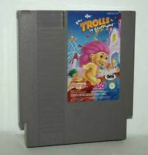 THE TROLLS IN CRAZYLAND USATO CARTUCCIA NINTENDO NES ED ITA PAL A FR1 43133