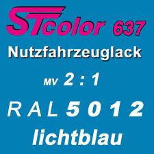 2K Lack Autolack NFZ 2:1 RAL 5012 lichtblau Set 1,5kg