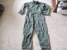 US ARMY NOMEX SUMMER FLYER'S FLIGHT SUIT CWU 27/P SIZE 40S