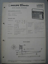 Philips L2D52T Nicolette de luxe Kofferradio Service Manual, Ausgabe 02/65