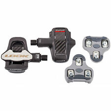 NEW 2016 LOOK KEO BLADE 2 Carbon Fiber Cromo Road Pedals & Grey Cleat set: 16Nm