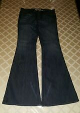 J BRAND  BABE LOW RISE BELL BOTTOM JEANS Sz 32